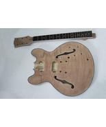 project DIY electric guitar kit semi-hollow jazz guitar body - $217.79