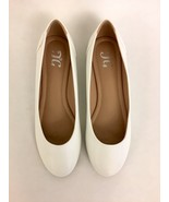 NEW White KAVN Ballet Flats - Journee Collection, Women's Size 7.5 - $29.99