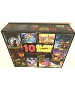 2005 Ceaco Dolphin Bear Maiden Sunset 10 Glow in the Dark Jigsaw Puzzles... - $49.49