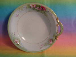 Vtg Nippon Rising Sun One Handle Hand Painted Candy Bon Bon Dish AS IS Chipped - $5.89