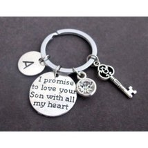 Mother of Groom Key Chain,Mother of Groom jewelry,Father of groom gift, - $12.00