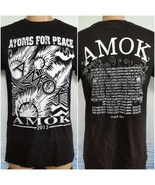 Atoms for Peace 2013 AMOK Tour Concert T-Shirt Black M NWOT Mens Thom Yorke - $28.71