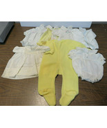 Lot Of 7 Vintage Baby Cloths / 0 to 6 / Dress Vest Pajama Alexis Heidi Jogs - $75.00