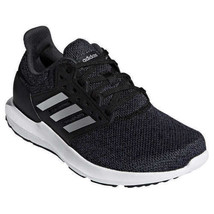 Adidas Women's Solyx Athletic Black/Silver Metallic/Carbon Running Shoes - $49.99