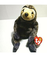 SLOWPOKE the Sloth - Ty Beanie Baby with Tag Errors / Oddities   - $39.59