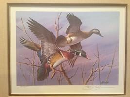 1984 S/N North Carolina Waterfowl Conservation Stamp Print by Jim Killen - $142.00