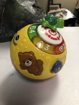 VTech Wiggle and Crawl Ball Perfect Educational Toy Rolling Infant Baby Lights - $5.92