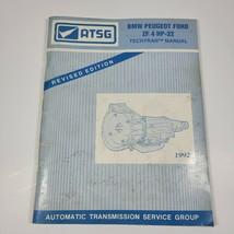 ATSG ZF 4 HP-22 BMW Peugeot Ford Transmission Service Rebuild Overhaul Manual - $24.99