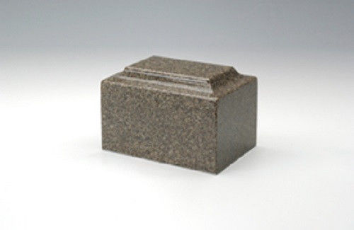 Angel Classic Brown Granite Infant/Pet/Child Funeral Cremation Urn,100 Cubic In.
