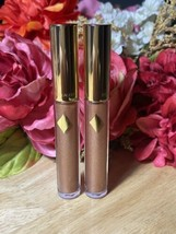 X2 Estée Lauder Pure Color Envy Sculpting Lip Gloss Wild Mink #130 - $19.79