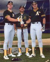 Jose Canseco Mark McGwire Reggie Jackson 8X10 Color Baseball Memorabili... - $6.99
