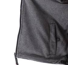 Lax Men's Water Resistant Removable Hood Security Reversible Jacket Black image 6