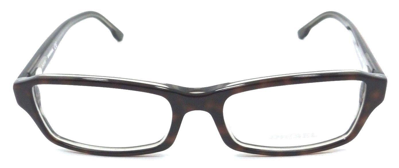 New Authentic Diesel Rx Eyeglasses Frames DL5004 056 53-17-145 Havana