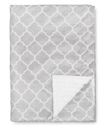 """New Super Soft And Cozy Baby Minky Blanket, Gray 30"""" x 40"""" - $18.65"""