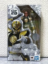 BANDAI S.H.Figuarts Power Rangers Kiba Ranger White Ranger Figure Doll New - $168.29