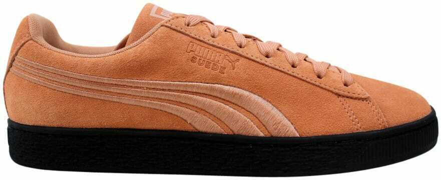 Puma Suede Classic Badge Flip 'EM Muted Clay/Puma Black 366491 01 Men's Size 8.5