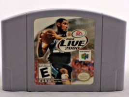 NBA Live 2000 - Nintendo 64 N64 Game Authentic Cartage Only - $8.90