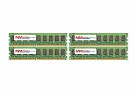 Memory Masters 16GB (4x4GB) DDR2-667MHz PC2-5300 Ecc Udimm 2Rx8 1.8V Unbuffered M - $355.41