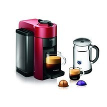 Nespresso Coffee & Espresso Maker Machine w/ Ae... - $225.00