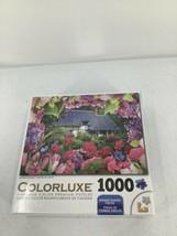 "Colorluxe 509 Piece Puzzle Summer Cottage Maximum Color Premium New 20x27"" - $12.64"