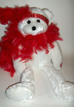 """Chantilly Lane Plush Bear- pbc--Roxie sings """"I Want to be Loved by You"""" - $36.00"""