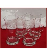 Princess House Heritage Crystal Irish  Mugs Set of 4 - $49.50