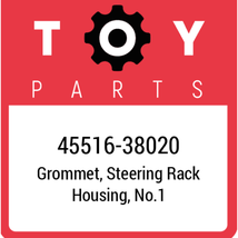 45516-38020 Toyota Bush Steering Rack, New Genuine OEM Part - $21.78