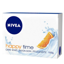 Nivea Bar Soap: Happy Time - 100 G Free Shipping - $6.39