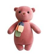 Teddy Panda plush toy doll scarf cuddle girl lovely sleeping cuddle birt... - $29.30