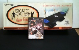 NEW SKATEBOARD CONTROLLER & AGRESSIVE INLINE SKATING for NINTENDO GAMECUBE - $34.95