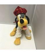 Walt Disney World Pirate Costume Pluto Dog Small Plush Stuffed Animal - $39.99