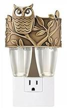 Bath & Body Works Bronze Owl Scent Switching Duo Nightlight Wallflower P... - $13.37