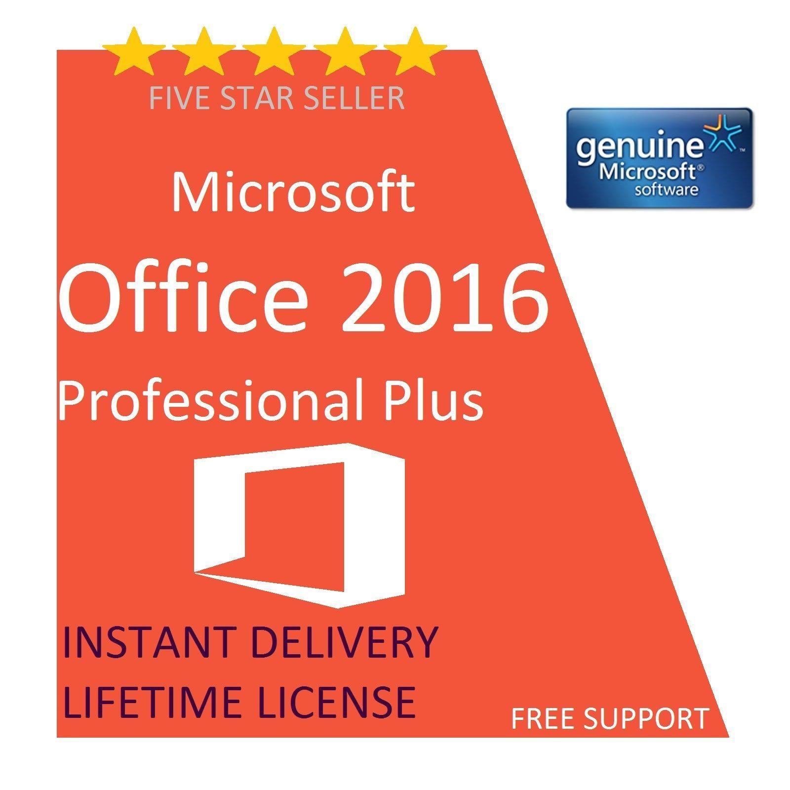 Microsoft office professional plus key 2016 5 customer - Office 13 professional plus product key ...