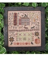 Autumn Harvest Sampler cross stitch chart Kathy Barrick Designs  - $9.00
