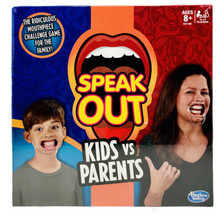 Hasbro Speak Out Kids vs Parents Mouthpiece Challenge Game For Family C3145 NEW - $44.99