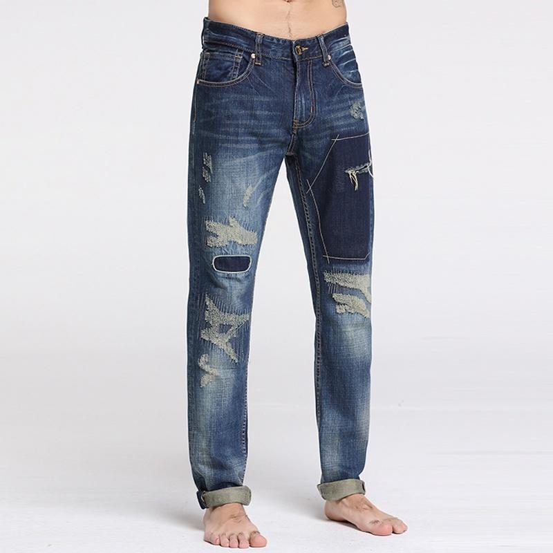 Sportsman fashion personality men's jeans
