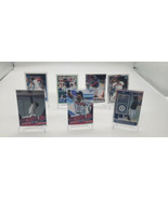 Lot Of 7 Ronald Acuna Jr Cards Silver, Inserts, Chronicles 2020 Atlanta ... - $19.32