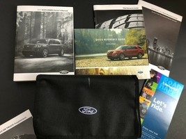 2017 Ford Explorer Owners Manual User 17 - $54.99