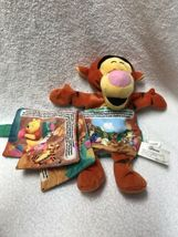 Disney Winnie The Pooh Tigger The Storybook Pillow Plush Book image 3