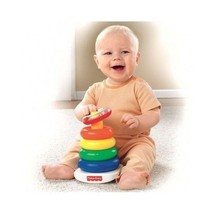 Fisher-Price N8248 Colourful Plastic Rings Toy Game - $17.75