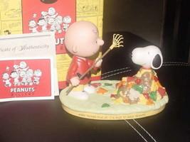 Hallmark Peanuts Gallery WORKING TOGETHER Figurine Mint With Box - $49.49