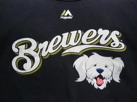 Milwaukee Mlb Brewers Hank K9 T-Shirt Child Size Lg 14/16-Baseball-Dog-Puppy!!! - $16.95