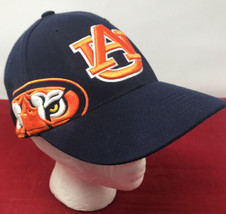Auburn University Tigers TOW Cap Navy Blue Memory One Fit Baseball Hat One Size - $19.79