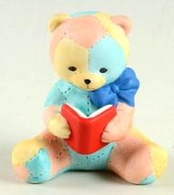Bronson Bears of Distinction figurine Patches by Katharine Stevenson 1988 - $6.85
