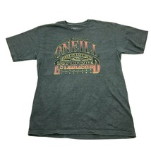 O'neill Retro Graphic Shirt Size L Large Adult Gray Tee 50/50 FIRST IN L... - $21.63