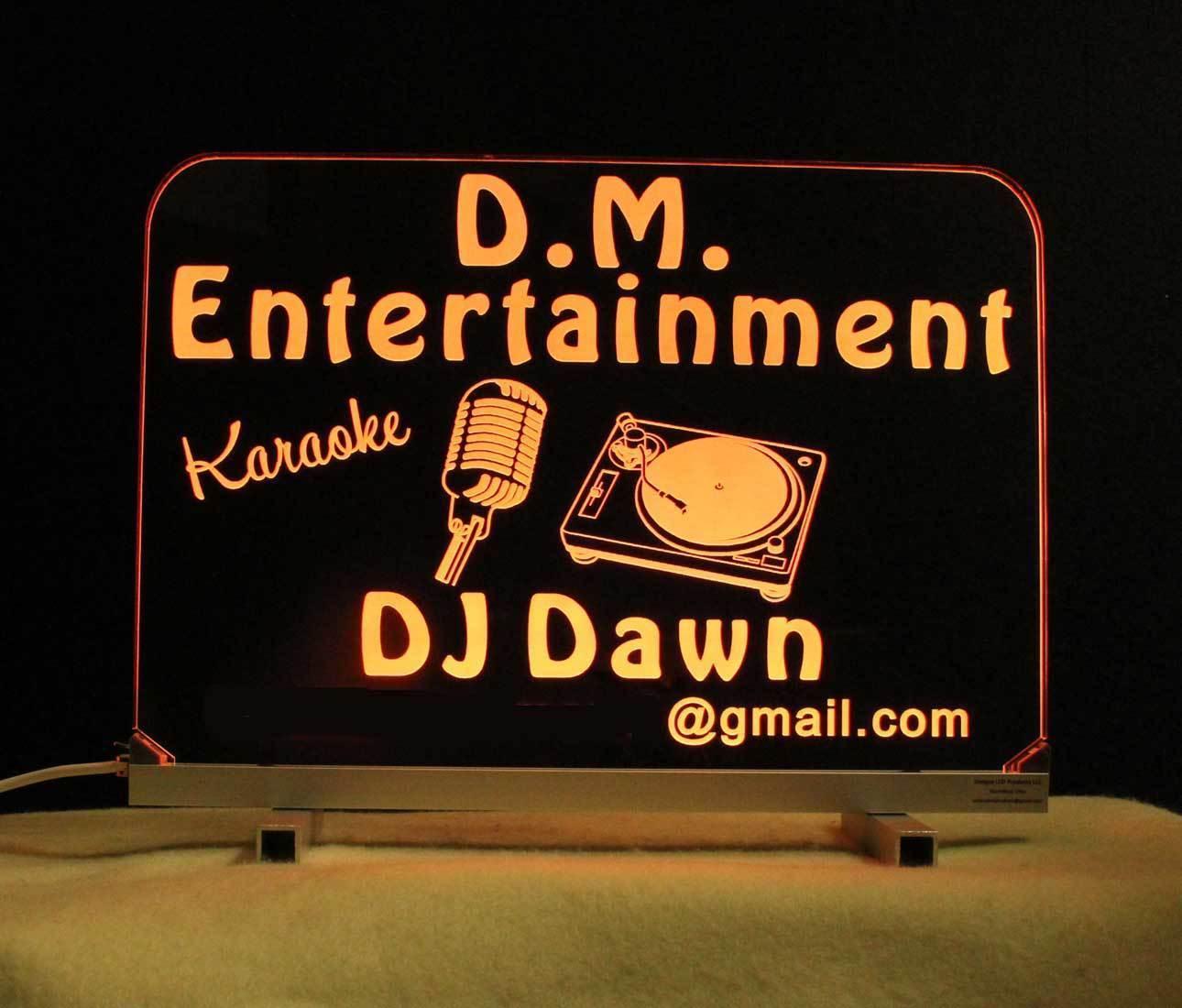 Personalized DJ Karaoke LED Bar Sign  image 6