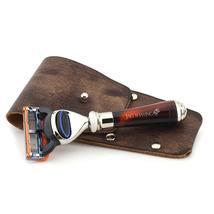 Mini Classic 5 Edge Shaving Razor with Resin Handle Best for Clean Men S... - $36.99