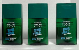 3 Garnier Fructis Style Shine + Hold Liquid Pomade Medium Hold 4.2 Fl Oz - $10.14