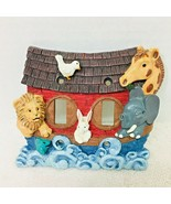 Cute Noah's Ark Light Switch Cover Plate 3D T100 - $18.32