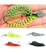 Spinner Bait Fishing Lure Wobbler Chatter Bait For Bass Pike Walleye Fis... - $3.96+
